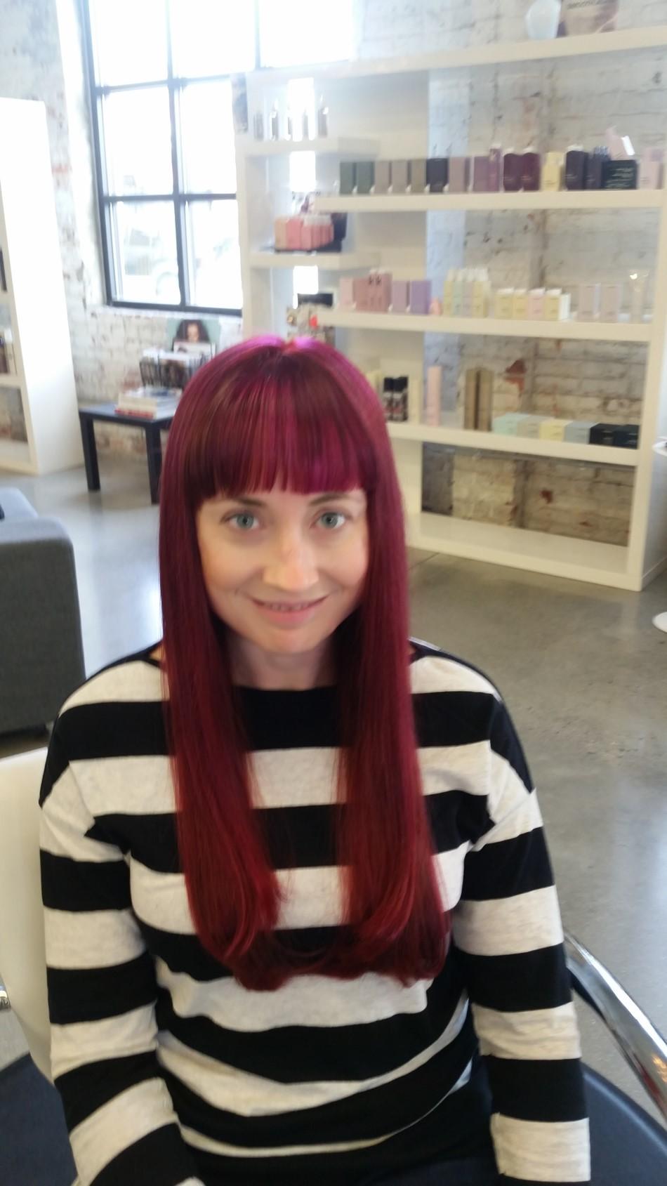 Sabrina obenauer g patton salon for Salon sabrina